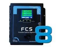 Sistema de controle flexível FCS-8 (até 8 canais)