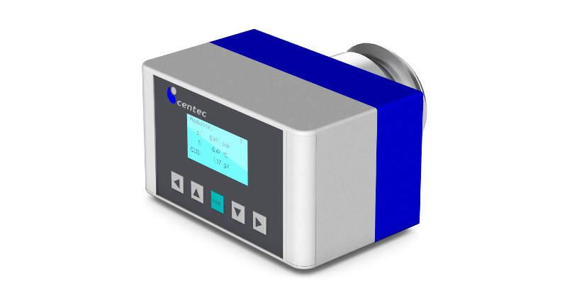 Medidor do teor de dióxido de carbono